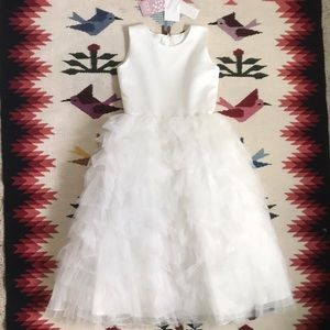 Joan Calabrese Flower Girl Dress Size 10
